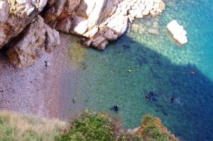 Hausriff-Tauchplatz Secret Beach