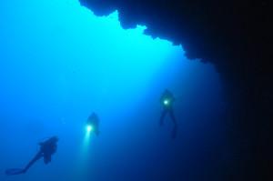 Tauchgang am Blue Hole